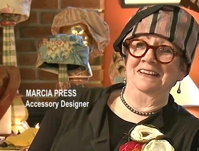 Accessory designer and primary decision maker, Marcia